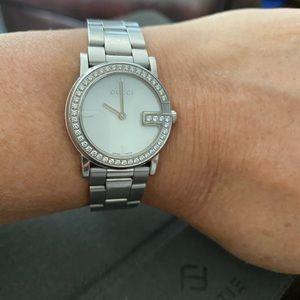 Authentic Gucci w/Diamonds watch